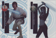 2015 Topps Star Wars High Tek Complete 112 Card Set - Pattern 1