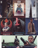 2016 Topps Star Wars The Force Awakens Series 2 Set + 101 + 102 + 5 Chase Sets (165)