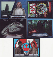 2016 Topps Star Wars Evolution Mini Master Set (153)