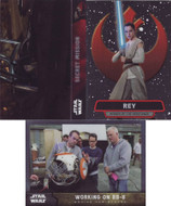 2016 Topps Star Wars The Force Awakens Chrome Set + Heroes + Scenes + Ships Sets (141)