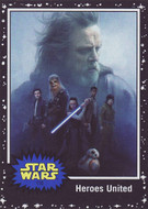 2017 Topps Star Wars Journey to The Last Jedi Black Parallel Set (110)