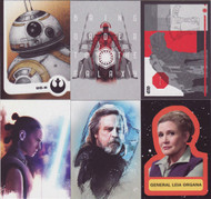 2017 Topps Star Wars Journey to The Last Jedi Ultimate Mini Master Set (179)