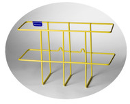 3-Ring Binder Racks, PVC Coated Steel Wire, Rigid or Collapsible