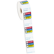 Right To Know Labels On a Roll, Roll/500