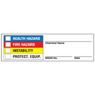 Super Sticky Right To Know Labels, 25/Pkg