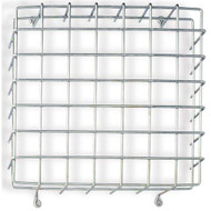 "Wire Guard Cage for Exit Signs, 13-5/8"" w x 13-5/8"" h x 4.5"" d"