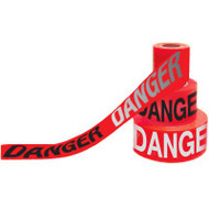 Day/Night Barricade Tape, DANGER