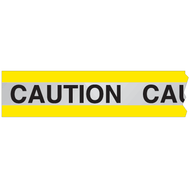 Reflective Barricade Tape, CAUTION