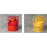 Eagle DOT Transport Safety Cans, Type II w/ Pour Spout, 5 gallon