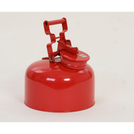 Eagle Disposal Safety Can, Galvanized Red Metal, 2.5 gallon
