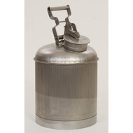Eagle Disposal Safety Can, Stainless Steel, 5 gallon