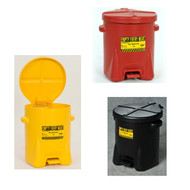 Eagle Oily Waste Safety Cans, 6 gallon