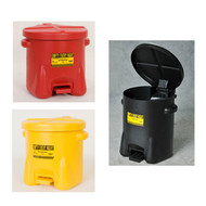 Eagle Oily Waste Safety Cans, 10 gallon