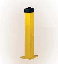 "Eagle Bollard Posts, 5"", Square, Yellow"