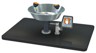 Guardian G1822 Eyewash, Deck Mounted, Stainless Steel Bowl