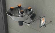 Guardian GFR1724 Freeze-Resistant WideArea™ Eye/Face Wash, Wall Mounted, Stainless Steel Bowl