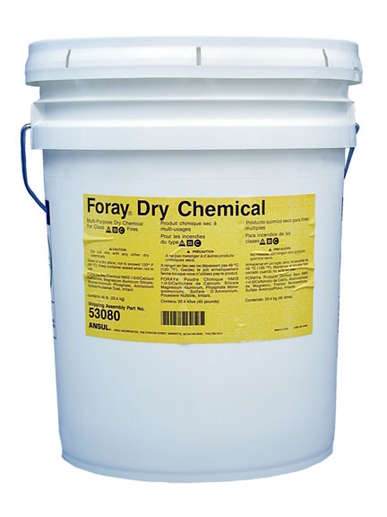 Ansul Foray Class Abc Extinguisher Powder 45 Lb Pail