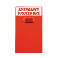Emergency Procedure Clipboard