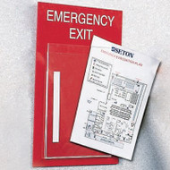 Evacuation Plan Holder