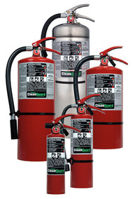 Ansul CleanGuard Clean Agent Fire Extinguishers