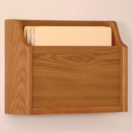 Wooden  Extra Deep 1 Pocket Chart and File Holder
