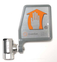Replacement Guardian AP600-101V Vertical Eye Wash Ball Valves w/ Flag Handle