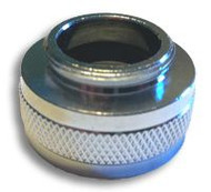 "Guardian AP400-015 Female 3/4"" Garden Hose Inlet Adapter for G1100 and G1200 Series Eyewashes"