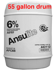 Ansulite™ AFC6B 6% AFFF Concentrate, 55 gallon (208 liter) drum