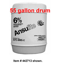 Ansulite™ 6% AFFF MIL-SPEC Concentrate (AFC-6MS), 55 gallon (208 liter) drum
