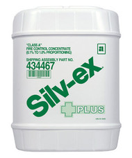 Silv-ex® Plus Class A Fire Control Concentrate, 5 gallon (19 liter) pail