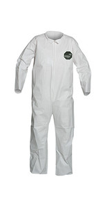ProShield® 50 Coveralls, Zipper Front, Open Wrists and Ankles