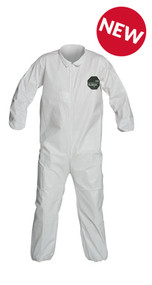 ProShield® 50 Coveralls, Zipper Front, Elastic Wrists and Ankles