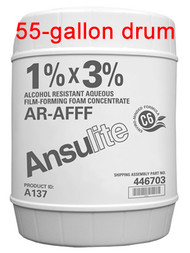 Ansulite™ A137 1%x3% AR-AFFF Concentrate, 55 gallon (208 liter) drum