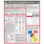 Spanish Employee Right To Know HazCom Safety Poster