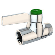 L4301 High Flow Laboratory Water Valve, Straight Pattern, Chrome Finish