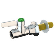 L4301-159WSA High Flow Laboratory Water Valve, Panel Mounted, Chrome Finish