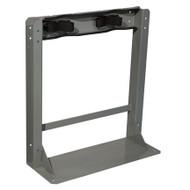 2 Gas Cylinder Floor-Mounted Storage Stands w/ Straps