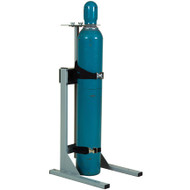 Single Cylinder Gas Cylinder Mobile Stand