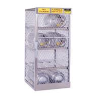 8-Cylinder Horizontal LPG Cylinder Locker, Aluminum