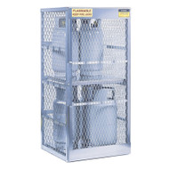 8-Cylinder Vertical LPG Cylinder Locker, Aluminum