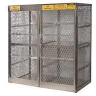 16-Cylinder Vertical LPG Cylinder Locker, Aluminum