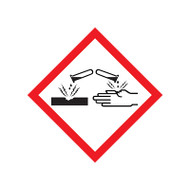 GHS Corrosion Pictogram Labels