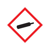 GHS Gas Cylinder Pictogram Labels