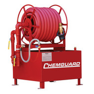 Chemguard Fixed Hose Reel Foam Stations, 36 and 60 Gallon