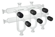 Dual Line Vacuum Manifold Complete System w/ 3, 4, or 5 ports