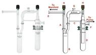 Dual Vacuum Trap Assembly