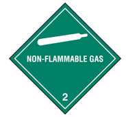 Class 2 Non-Flammable Gas DOT Shipping Labels, 500/roll