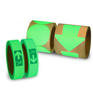 Glow In The Dark Directional Fire Exit Tapes