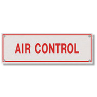 Air Control Aluminum Sprinkler Identification Sign