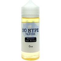 No Hype Vapors 120ml E-liquid - Banana Nut Bread